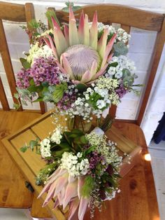 Australian Native Flowers as Wedding Bouquets - Sweet Floral Surprise Wedding, Wedding Day, Australian Native Flowers, Native Australians, Wax Flowers, Babies Breath, Brides And Bridesmaids, Spring Time, Wedding Bouquets