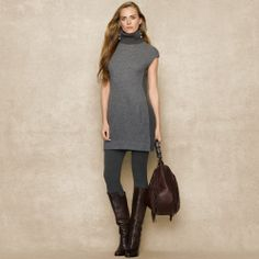 Ralph Lauren Blue Label Turtleneck Sweater Dress on shopstyle.com