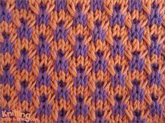 Double Twist Giriş | knittingstitchpatterns.com