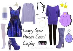 cosplayallthethings:  Lumpy Space Princess Casual Cosplay A request done for amberwharsh, I hope you like it! :3