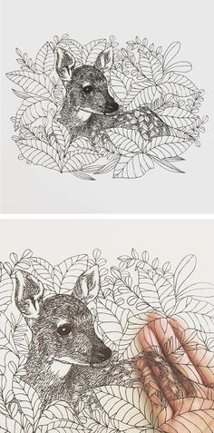 Paper artist Kanako Abe creates incredibly detailed hand-cut artworks that depict spirit animals and mystical woodlands.