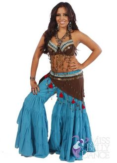 Miss Belly tribal dance costume. Belly Dancer Costumes bf997008d906