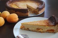 karolina-azzaro: Tvarohovo marhuľový koláč