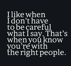 #right people #careful