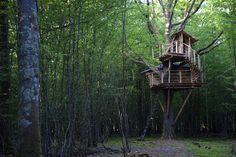 Treehouse at Cabanes Dans Arbres