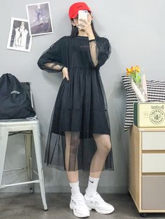 Check Out These Great korean fashion outfits 9705 Hyun-Kyung Korean Fashion Ltd Korean Girl Style, Korean Girl Fashion, Korean Fashion Trends, Ulzzang Fashion, Korean Street Fashion, Korea Fashion, Kpop Fashion, Asian Style, Asian Fashion