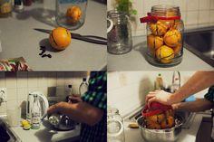 orange & coffe tincture