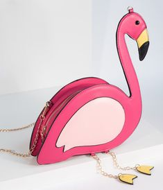Women/'s Flamingo Bird Shape Purse Crossbody Shoulder Bag Messenger Handbag DB