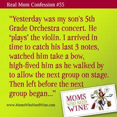 Real Mom Confession #55