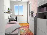 Pokój Oli na różowo