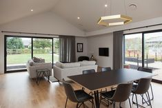 Modern home in Waikato, New Zealand. Builder: Urban Homes