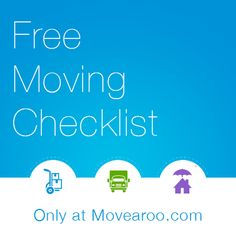 Check out our easy to use and EXTREMELY helpful moving checklist!!