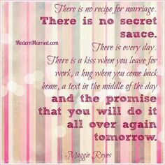 There is no recipe for marriage. There is no secret sauce. I love this so much. Recipe For Marriage, Marriage Tips, Love And Marriage, Marriage Qoutes, Marriage Box, Relationship Quotes, Wedding Vows To Husband, Romance, Love My Husband