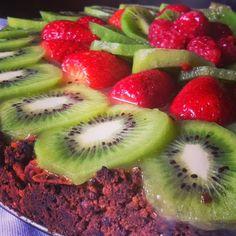 Simo's Cooking: Dolci con Ricotta  cheesecake ai kiwi che voleva assomigliare ad una crostata