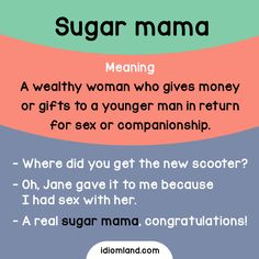 Do you know anyone who has a sugar mama? - Repinned by Chesapeake College Adult Ed. We offer free classes on the Eastern Shore of MD to help you earn your GED - H.S. Diploma or Learn English (ESL) . For GED classes contact Danielle Thomas 410-829-6043 dthomas@chesapeke.edu For ESL classes contact Karen Luceti - 410-443-1163 Kluceti@chesapeake.edu . www.chesapeake.edu