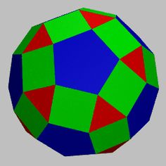 Making a rhombicosidodecahedron