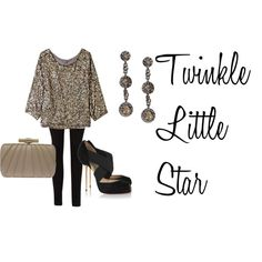 Twinkle Little Star, created by taylorcargile on Polyvore