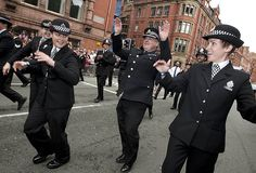 Officers and staff from Greater Manchester Police (GMP) took part in Manchester's Pride parade on Saturday 24 August. The annual event, watched by around 200,000 people, is organised by Police with Pride, which consists of lesbian, gay, bisexual and trans (LGBT) representatives from forces across the North West.