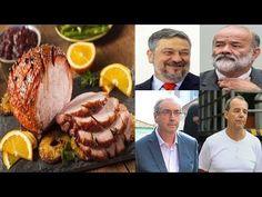 Presos da Lava Jato terão CEIA DE NATAL ESPECIAL com PERU ASSADO E A...