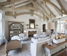 A Country Scottsdale Residence With French Inspired Decor In Incredible French Country Living Room French Country Kitchens, French Country Living Room, French Country Style, French Country Decorating, French Decor, Country Bathrooms, French Country Lighting, French Farmhouse, Country Farmhouse
