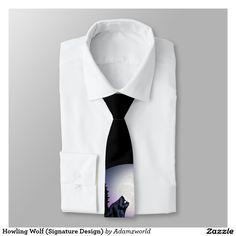 Howling Wolf (Signature Design) Necktie