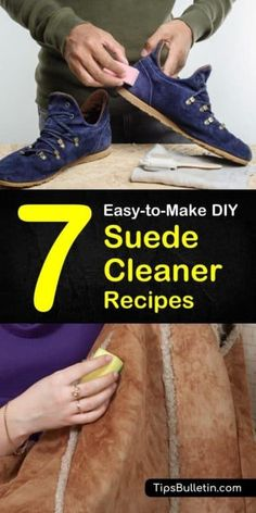 DIY Suede Cleaner Recipes: 7 Tips For Cleaning Suede at Home Deep Cleaning Tips, House Cleaning Tips, Diy Cleaning Products, Cleaning Schedules, Clean Suede Shoes, How To Clean Suede, Bathroom Cleaning Hacks, Toilet Cleaning, Leather