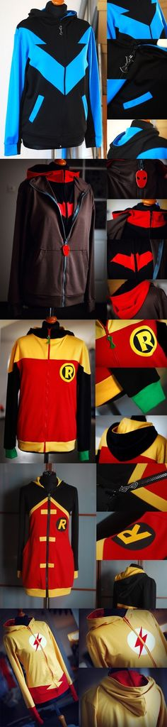 More Awesome Superhero Hoodies