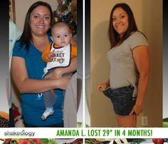 Amanda L. lost 29 in