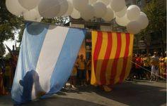 """Plataforma de argentinos por la independencia de Catalunya: """"ellos nos ayudaron a emanciparnos, doscientos años después hay que devolverles el favor"""""""