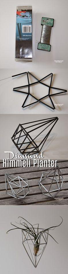 Diamantvormige rietjeslamp