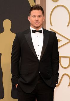 Channing Tatum - At the 2014 Vanity Fair Oscar Party on March 3, 2014 in West Hollywood, California.  -Cosmopolitan.com