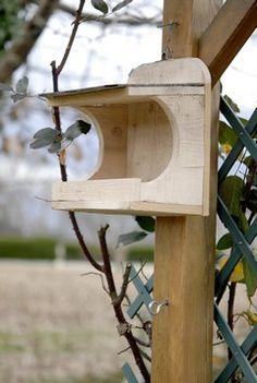 L'hiver est une période charnière pour la petite faune du jardin. Pendant que certains animaux ont  trouvé refuge dans un abri et ralenti leur rythme de vie (et cardiaque) jusqu'à entrer en hibernation (hérisson, grenouille…), d'autres, dont les oiseaux, restent en activité. Et chaque jour qui passe est une victoire supplémentaire dans la lutte qu'ils mènent pour la survie. Ne restons pas les bras croisés, aidons-les ! http://www.jardipartage.fr/construire-un-nichoir-a-rouge-gorges/