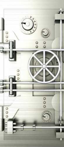 Vintage Bank Vault Door Safe Download From Over 45