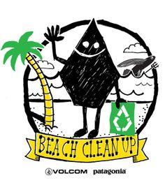 VOLCOM PATAGONIA BEACH CLEAN UP PARTNER CHP #patagonia #beachcleanup #volcom