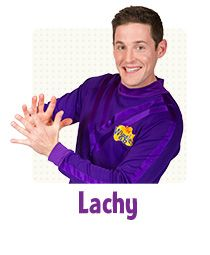 'Lucky' Lachy wears the purple Wiggles shirt and plays the keyboards, sings and dances. Although he is very talented, Lachy is bashful and will often blush at most things . Wiggles Party, The Wiggles, 2nd Birthday, Birthday Ideas, Wag The Dog, Purple Party, Things Happen, My Crush, Scrapbooking Layouts