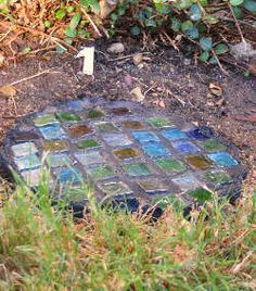 Stepping stones-homemade