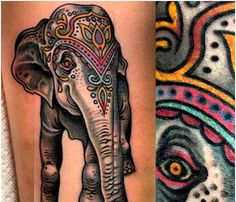 Top 10 Elephant Tattoo Designs | StyleCraze