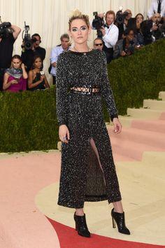 The 2016 Met Gala Red Carpet: Kristen Stewart in Chanel