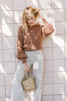 Bell Sleeves and Knitwear by Dôen