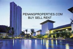Penang #BatuFerringhi - Miami Green Resort Condo with a contemporary facade, featuring an enchanting pool garden. Situated in Penang's most scenic spot, where the island's pristine beaches converge amongst lush green hills and the Miami Bay sea. Furnished unit available for sale and rent at  http://www.penangproperties.com/residential.html  #batuferringhi  #penangbatuferringhi  #apartmentpenang