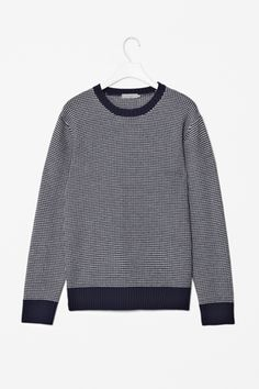 Two-colour knit jumper from COS