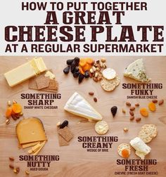 picture of cheese plate.