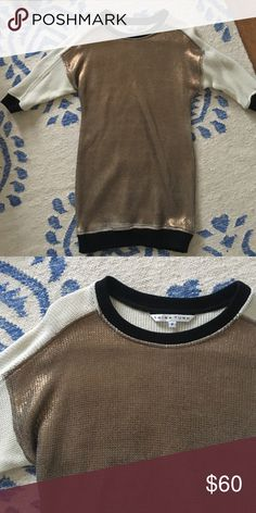 Trina Turk sweater dress Sparkly, fitted sweater dress ( baggier on top) Trina Turk Dresses Mini