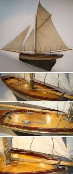 Image result for scale model working sailboat gaff
