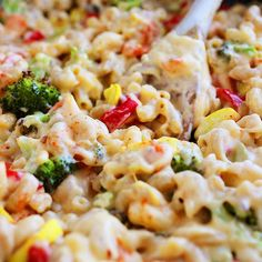 Spicy Roasted Vegetable Macaroni and Cheese - Recipes to Try - Studentenfutter Think Food, I Love Food, Food For Thought, Vegetarian Recipes, Cooking Recipes, Healthy Recipes, Healthy Foods, Easy Recipes, Cheese Recipes