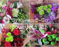 December bouquets.