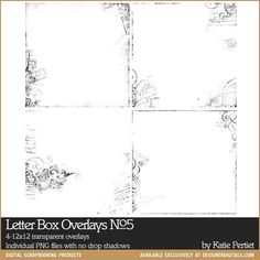 Letter Box Overlays No. 05