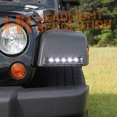 2007-2014 Jeep Wrangler LED Daytime Running Light System