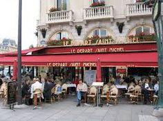 Le Depart Saint Michael Café in Paris