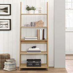 Birlea Nordic Oak Ladder Bookcase